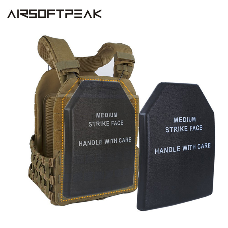 Tactical Vest Plate Chest Protective Pad Inner Liner Foam Anti-shock Plate Outdoor Hunting Vest Accessories For Crossfit Sports
