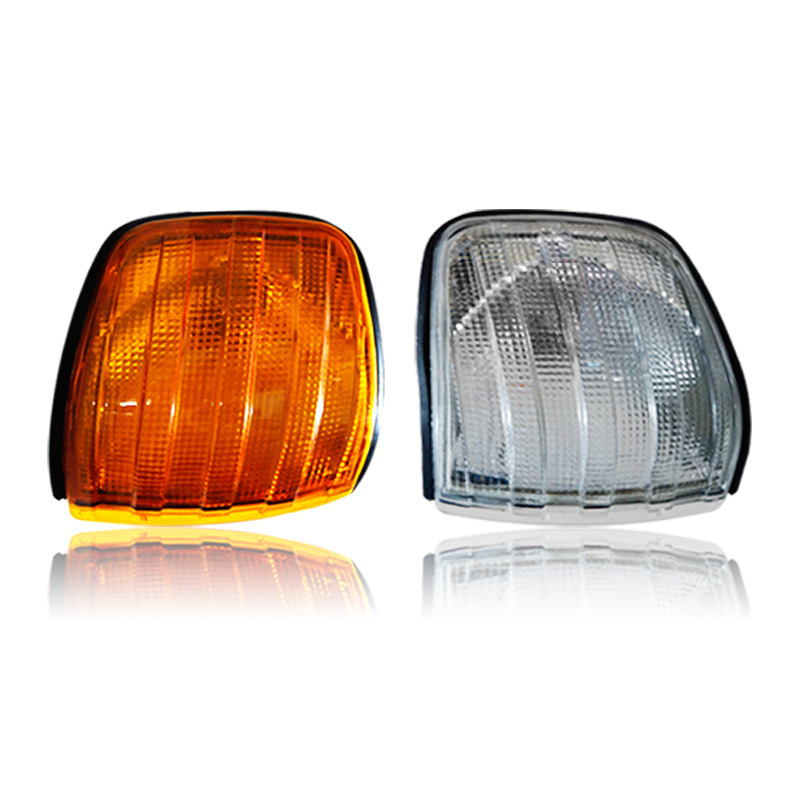 Car Front Corner Lamp Yellow Turn Signal Light Cover For Mercedes Benz W126 300SE 1500SE 1560SE(0008209121)