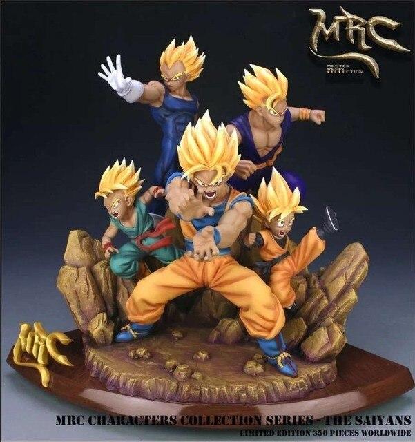 MODEL FANS Dragon Ball Z MRC 38cm all super saiya goku