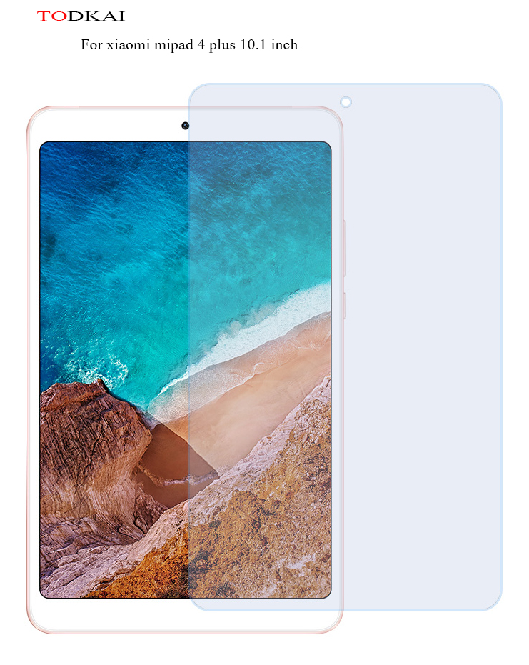 9H Tempered Glass For Xiaomi MiPad 4 Plus Screen Protector Film For Xiaomi Mi Pad MiPad4 Plus 10.1 inch Tablet Tempered Glass xiaomi mi pad 2 tablet anti blu ray tempered glass screen film