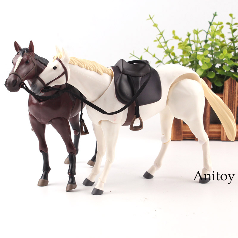 Anime Cartoon Horse Chestunt Action Figure Model Toy Collection Home Decor