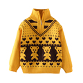 Boys Little Bear Spring Autumn sweater Boys Turtleneck Sweater children Adorable  sweaters kids sweaters boys