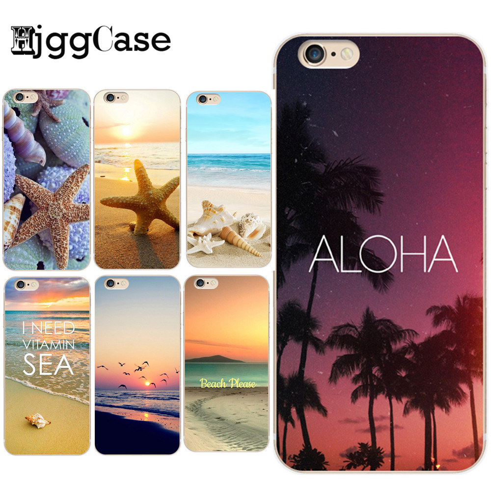 coque iphone 8 paysage mer