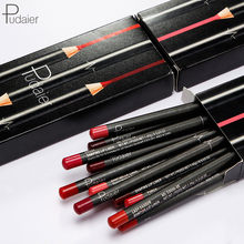 Marke 12 stücke Matte Lip Liner Eingestellt Langlebig Matt Glatte Bleistift für Lip Contour Lipline Multi-funktionale Make-Up kosmetik Stift