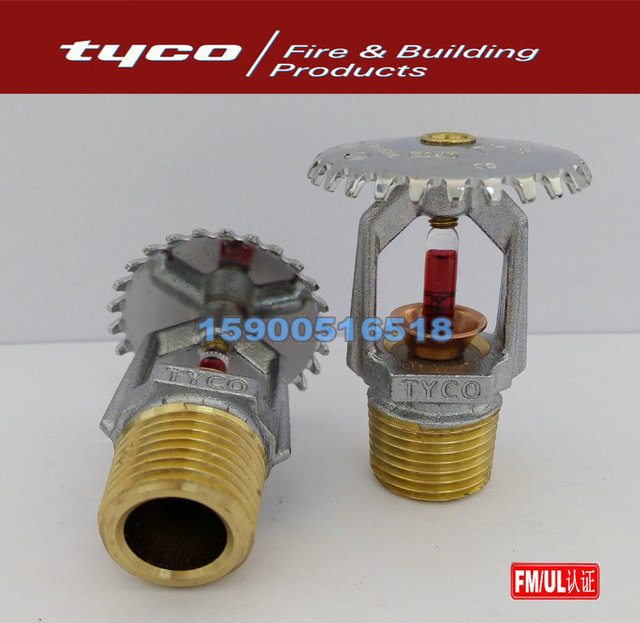 US $13 8 |Tyco fire sprinkler head TY3231 68 degrees Celsius Vertical glass  ball nozzle 155 degrees Fahrenheit K=5 6 FM certification on