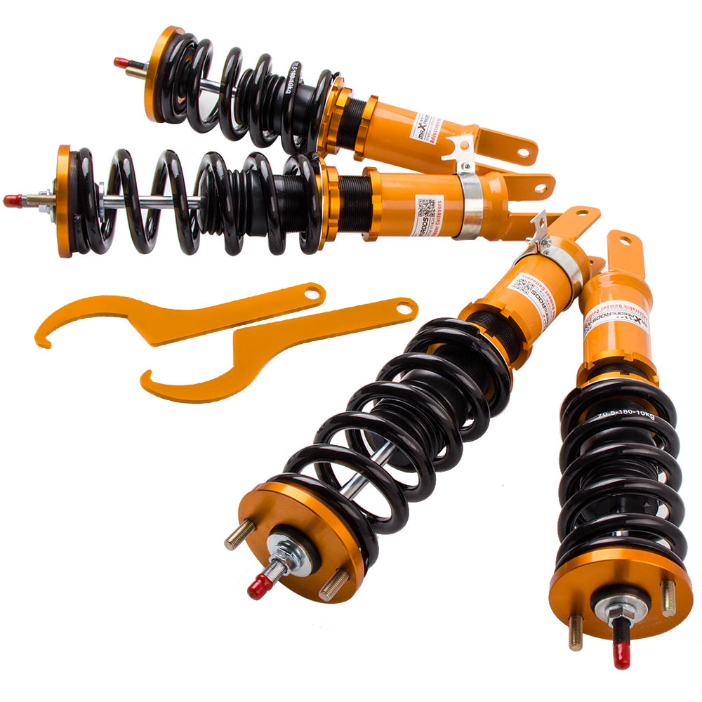 24 Level Adj. Coilovers Suspension For Honda S2000 Roadster AP1 AP2 00-09 Shock Absorbers Coilover Spring Strut24 Level Adj. Coilovers Suspension For Honda S2000 Roadster AP1 AP2 00-09 Shock Absorbers Coilover Spring Strut