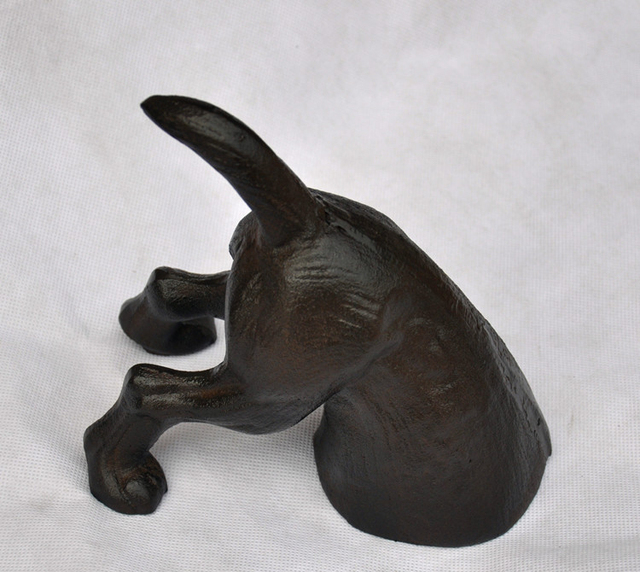 Charmant Dog Cast Iron Door Stop   Decorative Rustic Doorstop Wedge Statuary   Stop  Your Bedroom,