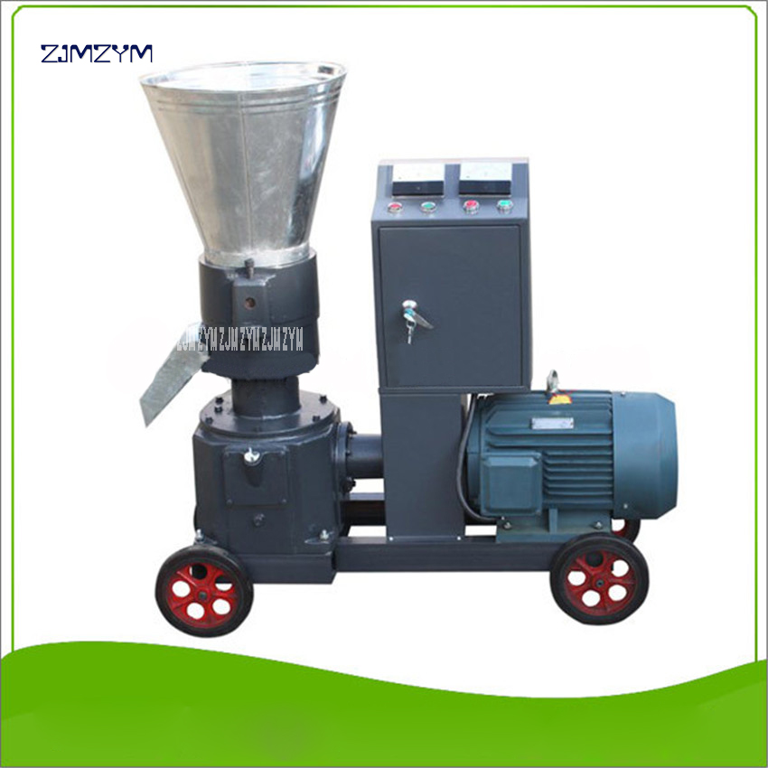 WKL200B High quality Granulator mash pellet machine 380V 50 Hz Granulator 200-300kg/h Feed pellet production ,70-110kg/h Wood