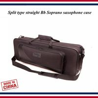 Saxophone accessories saxophone case Split type straight Bb Soprano saxophone bag , portable backpack saxophone parts