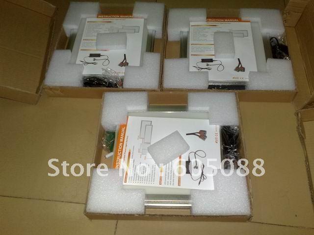 painel de led com controle 6 pcs lote 300x1200mm ultra fino 06