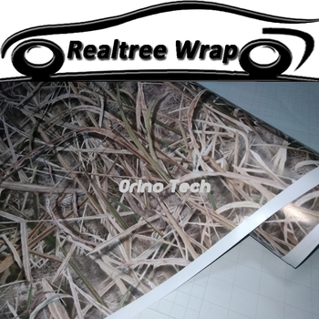 Shadow Grass Camouflage Vinyl Film Wrap With Air Bubble Free Realtree Film Car Truck Motorbike Body Sticker Decal Foil