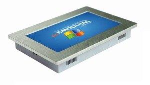 Image 2 - Ip65 방수 팬리스 미니 견고한 산업용 태블릿 pc 10 인치 터치 스크린 지원 windows10