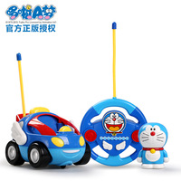 Doraemon Remote Control Car Children S Light Up Toy RC Cars Boy Electric Model Car Steering