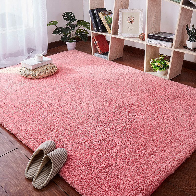 Lamb Velvet Carpet Living Room Coffee Table Blanket Bedroom Bedside Mat Tatami Kindergarten Cushion Children Crawling Rug