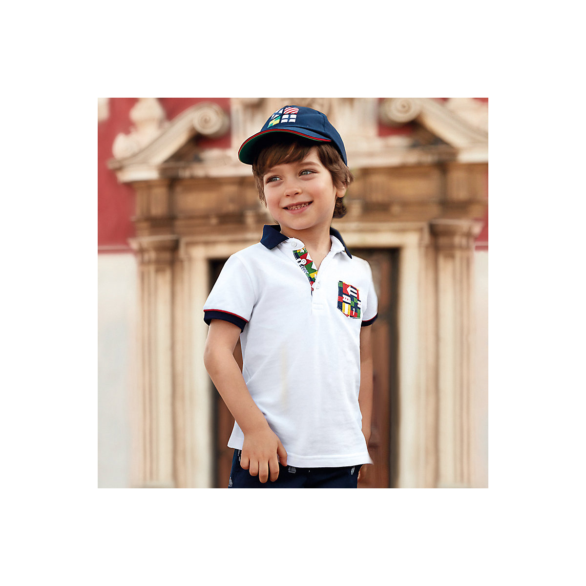 MAYORAL Polo Shirts 10691273 children clothing t-shirt shirt the print for boys