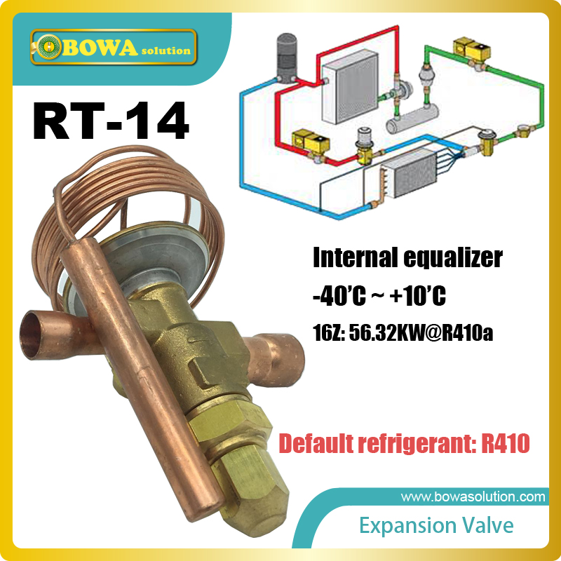 RT-14 thermostatic expansion valve is commonly used in the industrial refrigeration plants, high capacity split air conditioners цена и фото