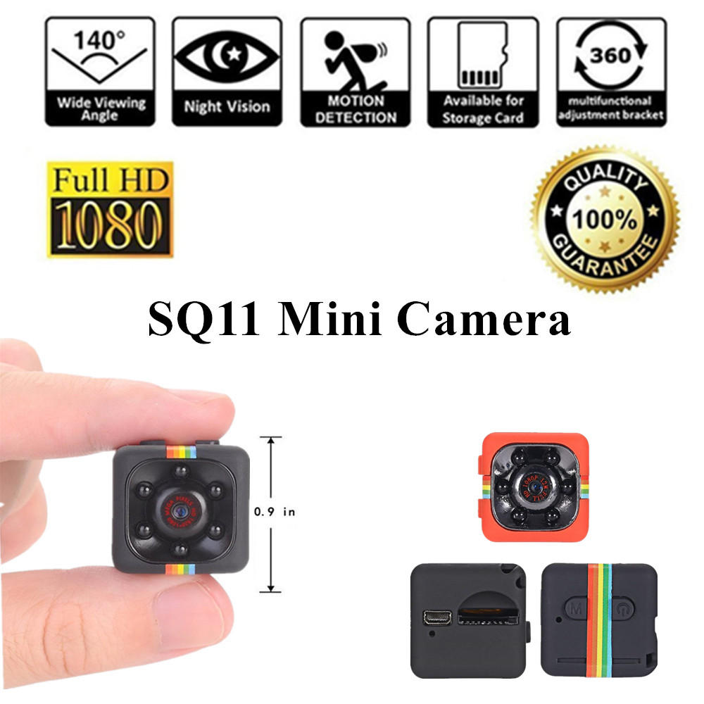 Mini Camera SQ11 HD 1080P Video Cam Micro Motion Detection micro Camcorder Infrared Night Vision Recorder minicamera SQ 11