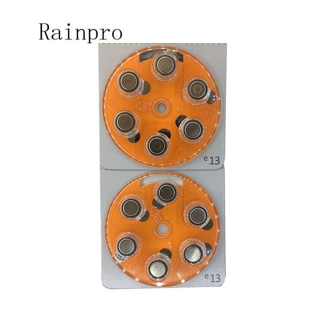 12pcs/lot Hearing Aid Batteries A13 13A E13 ZA13 13 PR48 Engine battery best quality