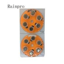 Baterias do Aparelho Auditivo pçs/lote 24 A13 13A E13 ZA13 13 PR48 bateria de melhor qualidade