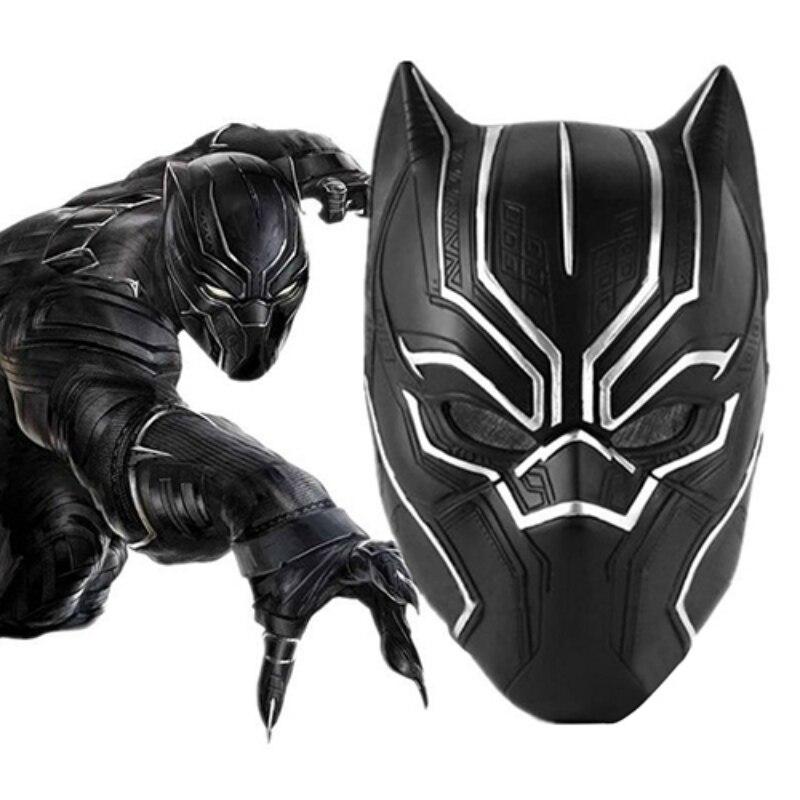Masks Superhero-Figure Gift Cosplay Halloween Black Latex for Kid Movie Fantastic Men's