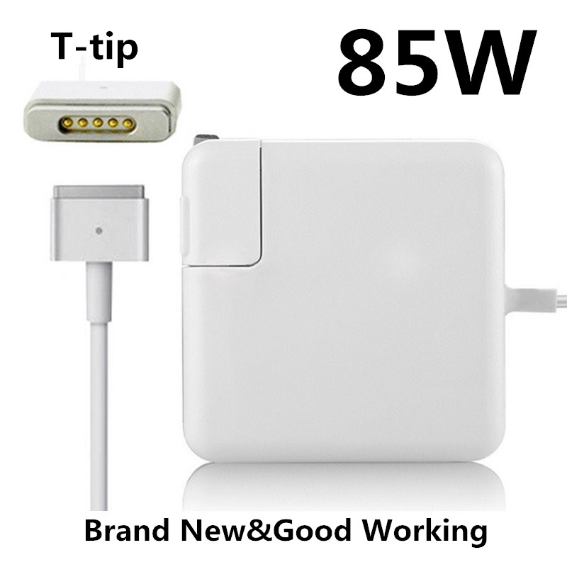 Replacement Magnetic T-tip 85W MagSaf* 2 Laptop Power Adapter Chargers For Apple MacBook ...