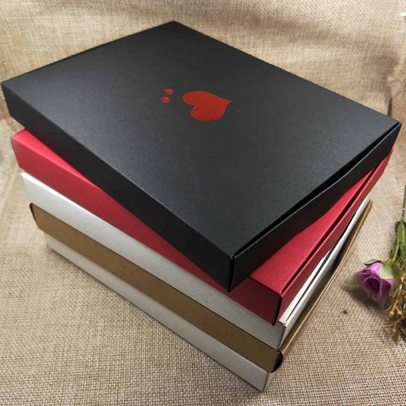 24pcs New Style Happy Mather Day BOX Red Heart Bigger Extension Wedding Favour Box White Rose Design Cardboard Boxes 20x15x2.5cm