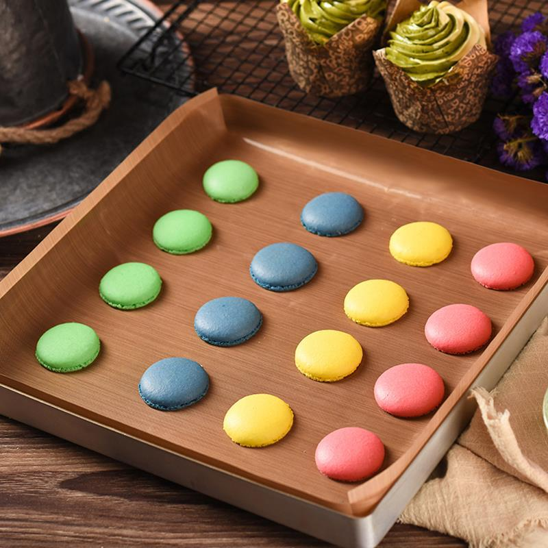 Image 4 - Teflon Heat Press Pad Reusable Baking Mat Non Stick Craft Sheet Heat Resistant Easy to Clean BBQ Grill & Baking Mats Macarons-in Baking Mats & Liners from Home & Garden