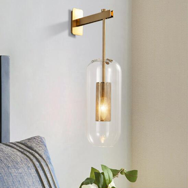 luxury wall lamp copper