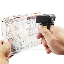 Symcode 1D лазерный мини Bleutooth кольцо сканер штрих кода, беспроводной считыватель штрих кода с 16 м пространство для хранения