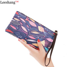 New Casual Clutch Mini Zip bag Rinting Leather Clutch Purse women's clutches Phone Wallet Clutches Women kawaii Purses Lady Bag