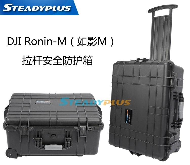 Высокое качество водонепроницаемый DJI Ронин M защитный чехол коробка ударопрочный защитный чехол с пользовательской EVA подкладка