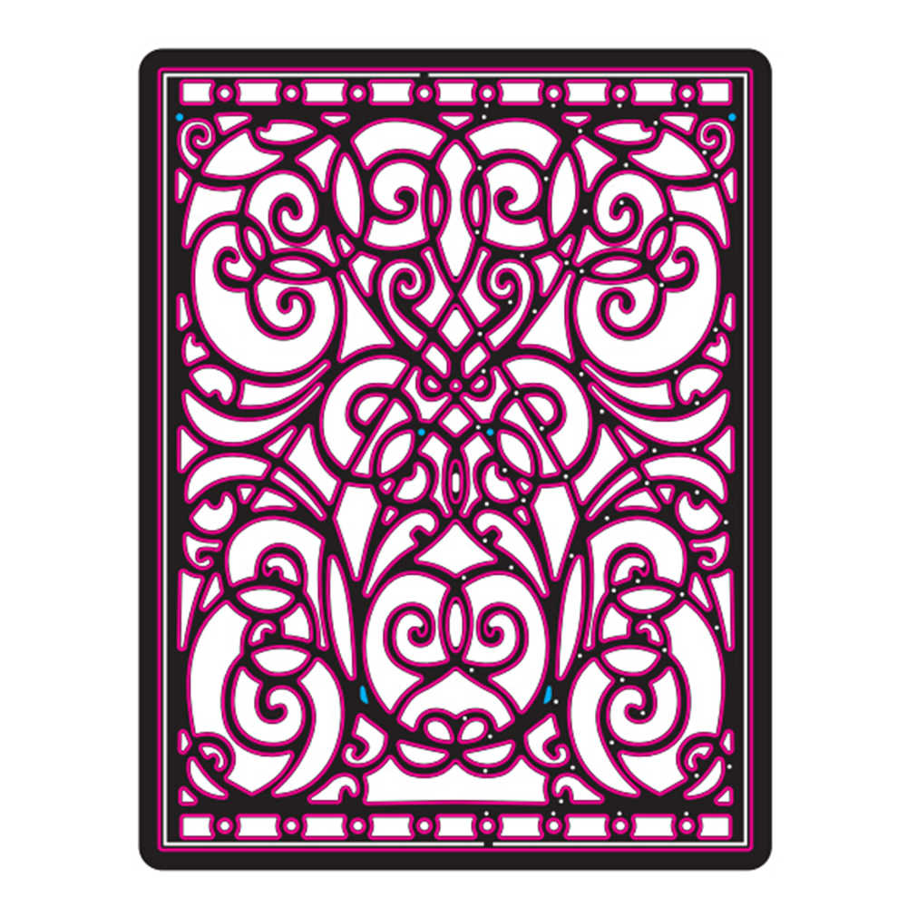 Gowing 27 Design Flower And Frame Metal Cutting Dies Stencils for DIY Scrapbooking Paper Album Card Craft Embossing Dies