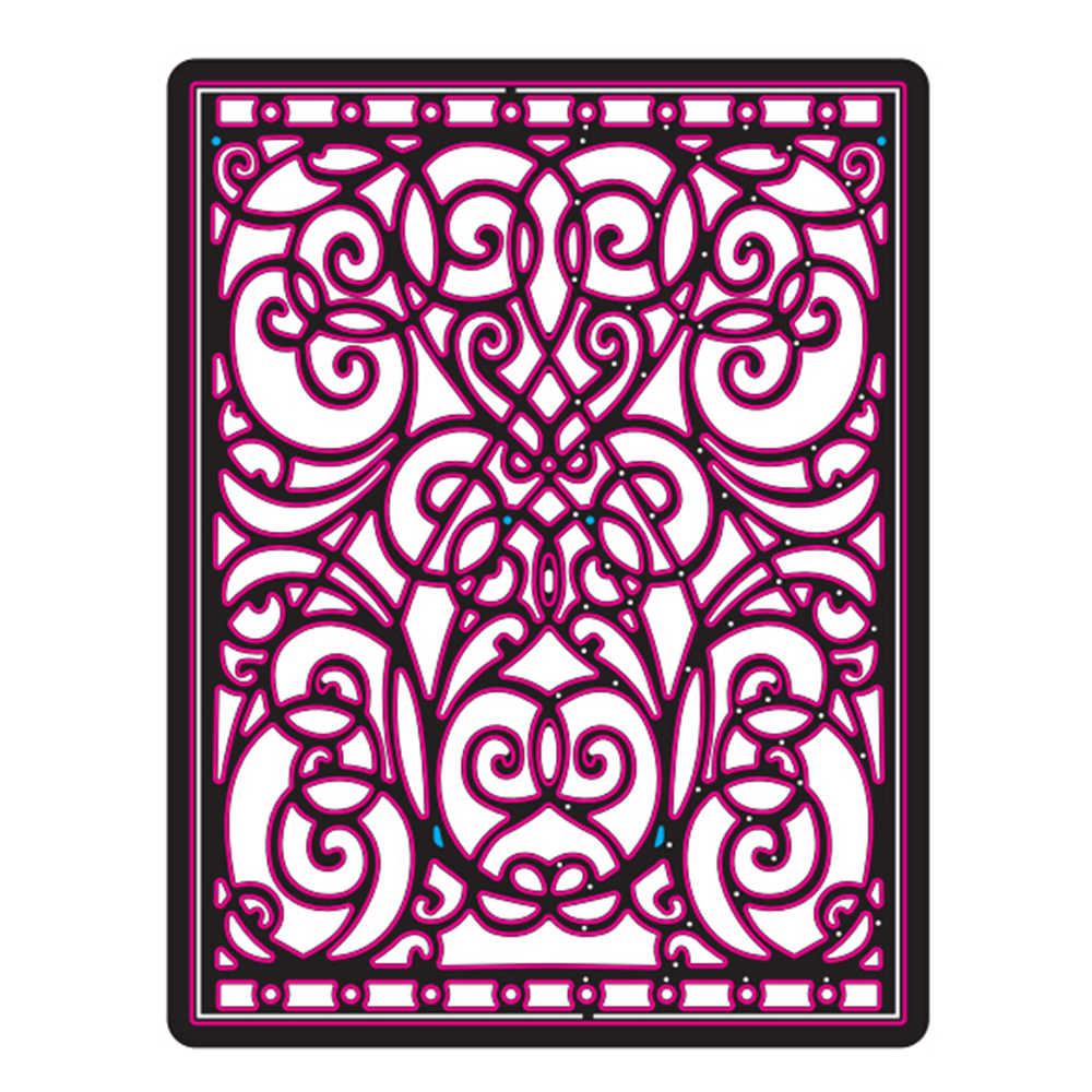 Gowing 27 Design fleur et cadre en métal découpe pochoirs pour bricolage Scrapbooking papier Album carte artisanat gaufrage matrices