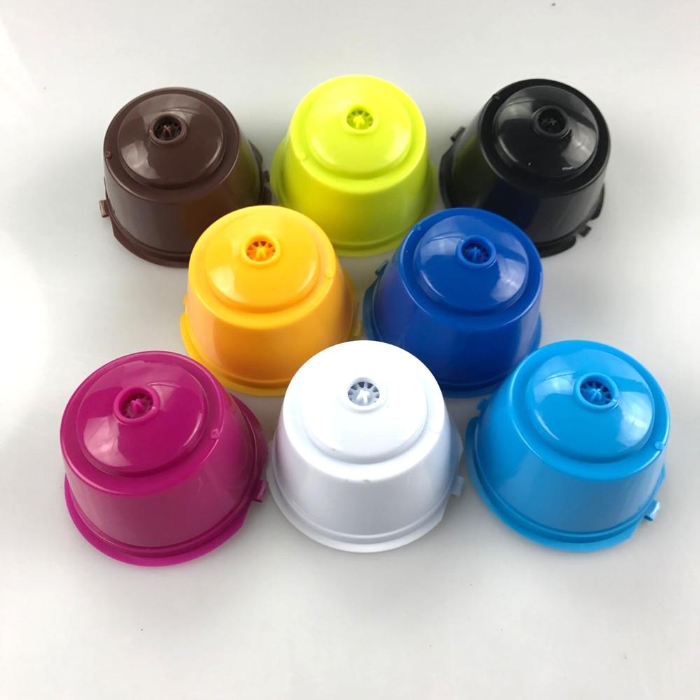 3tk komplekt - korduvkasutavad Nescafe Dolce Gusto kohvikapslid, pakendis 3 tk, 8 värvivalikut 1