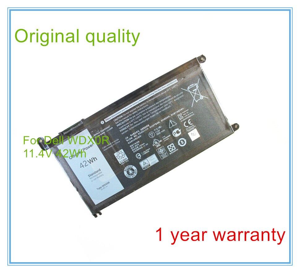 Original Laptop battery WDX0R for 15-5568 13-7368 Series WDXOR kingsener wdx0r laptop battery for dell inspiron 15 5568 5567 7560 13 7368 5378 5368 14 7460 17 5767 5765 for vostro 14 5468