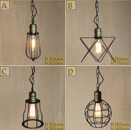 Nordic Loft Iron Art Pendant Light Fixtures Industrial Vintage Lighting For Living Dining Room Hanging Lamp Lamparas Colgantes loft industrial rust ceramics hanging lamp vintage pendant lamp cafe bar edison retro iron lighting