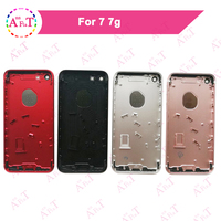 AAA For IPhone 7 7G Housing Battery Cover Door Rear Cover Chassis Frame Back For IPhone