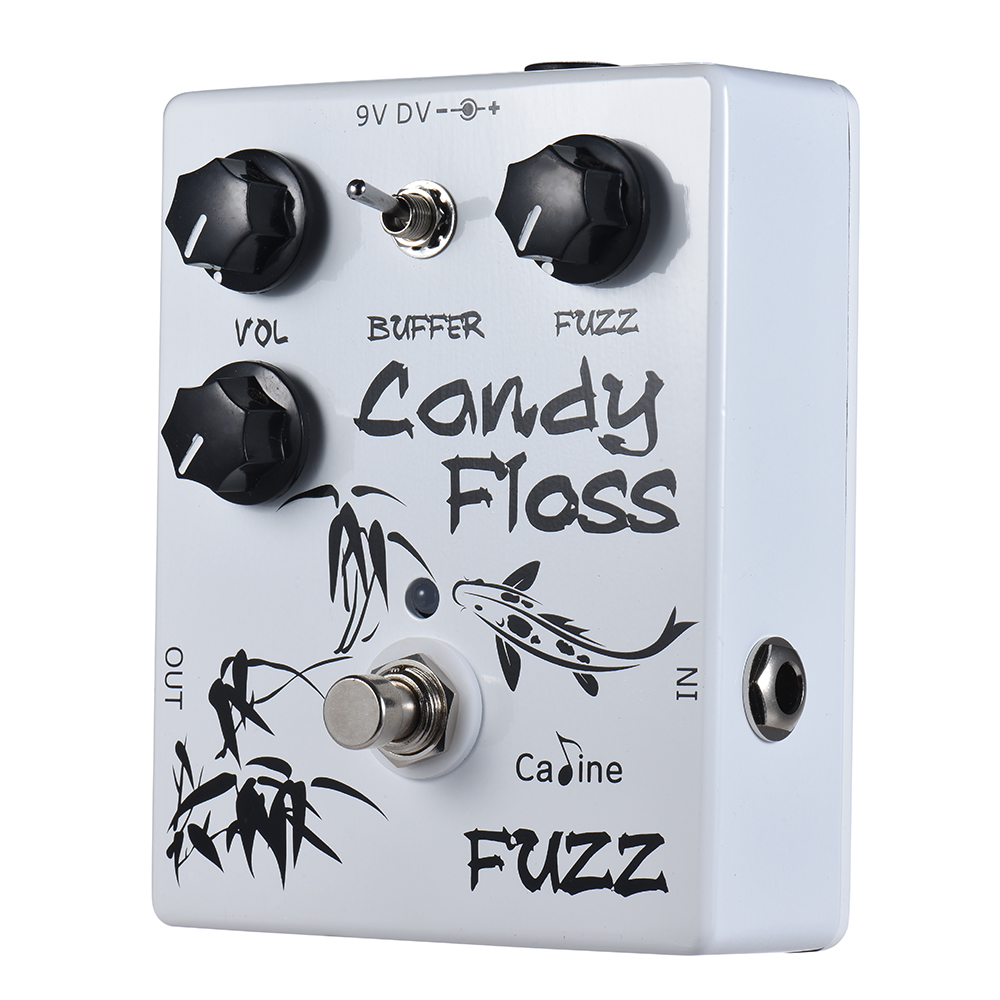 Caline CP 42 Guitar Pedal Candy Floss Fuzz Guitar Effect Pedal Aluminum Alloy With True Bypass Guitar Parts & Accessories-in Guitar Parts & Accessories from Sports & Entertainment on AliExpress - 11.11_Double 11_Singles' Day 1