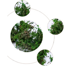 Creative Dried Artificial Moss Lining Decor Flower Hanging Baskets Gardening Crafts FP8 OC31