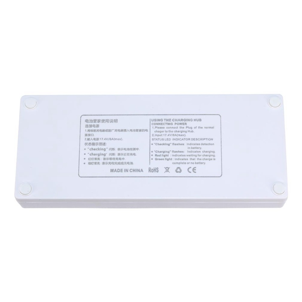 lowest price 3 IN 1 Battery Charger for DJI Phantom 4 Pro V2 0 Advanced Drone Parallel Charging Hub Charging Board With Display Monitor Parts