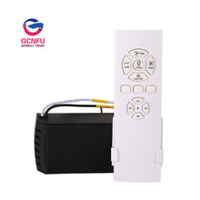 Wholesale high quality  Fan lamp remote controller wireless switch ceiling fan speed regulation with timing function
