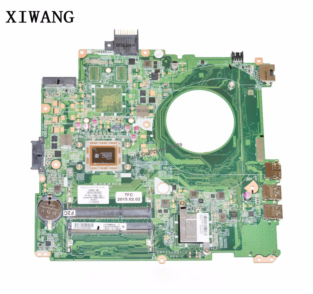 763550-001 763550-501 Free Shipping FOR HP Pavilion 14-V Laptop Motherboard A10-5745M DAY23AMB6C0 100% fully tested !! 698491 001 for hp pavilion 14 b 698491 501 for hp pavilion sleekbook 14 14 1000 laptop motherboard 100%tested fully work