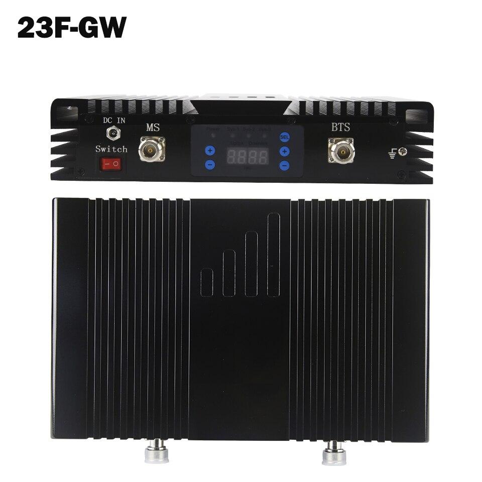 De 75dB ganar 2G 3G repetidor GSM 900 WCDMA 2100 de doble banda de amplificador de señal móvil MGC UMTS WCDMA banda 1 3G teléfono móvil amplificador