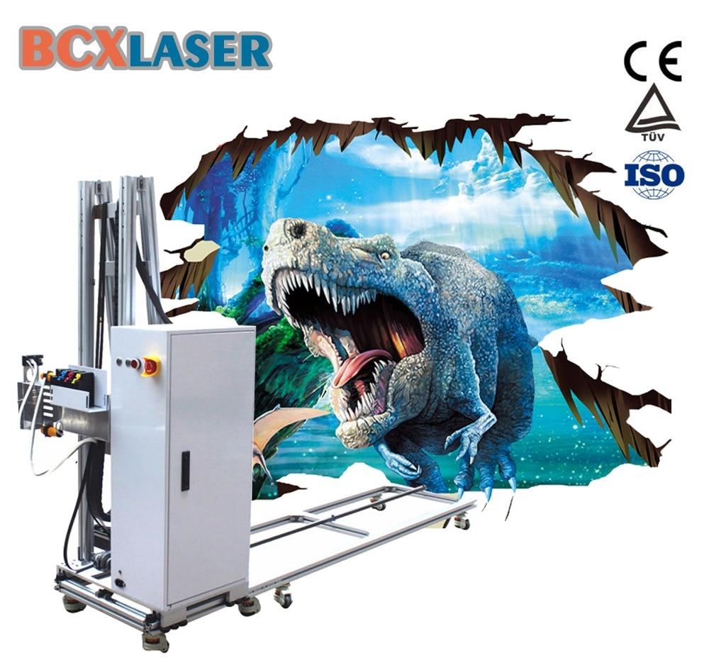BCX High Quality Vertical 3D Uv Printer Wall Printing Machine Wall