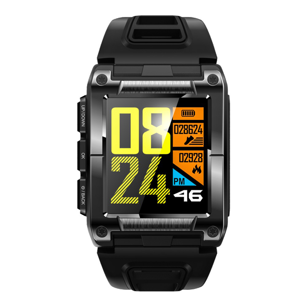 S929 Smartwatch GPS Sport IP68 Waterproof Swimming Smart Watch Heart Rate Monitor Thermometer Altimeter Color Screen