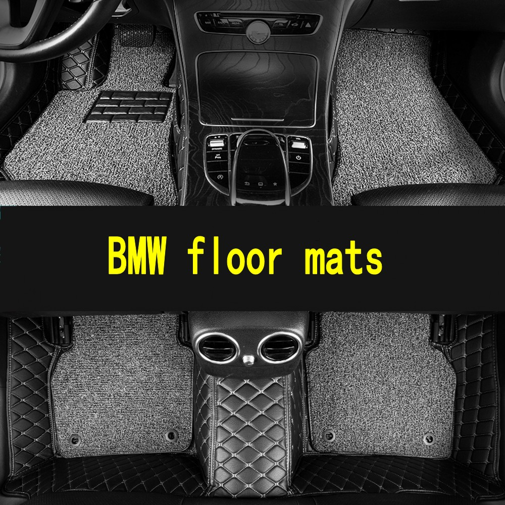 Custom car <font><b>floor</b></font> <font><b>mats</b></font> for <font><b>BMW</b></font> all models <font><b>e30</b></font> e34 e36 e39 e46 e60 e90 f10 f30 x3 x5 x6 car accessories auto styling <font><b>floor</b></font> <font><b>mat</b></font> image