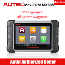 Autel MaxiCOM MK808 Car Diagnostic Scan Tool Automotive All System OBD2 OBD Scanner Oil Reset EPB BMS SAS DPF TPMS ABS Bleeding