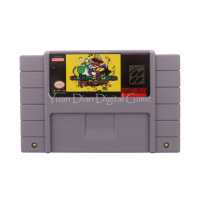 Nintendo SFC SNES Video Game Cartridge Console Card Super Mario World Return To Dinosaur Land US
