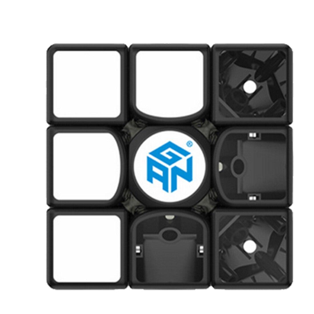 UTOYSLAND 60 pièces GAN356 Air SM Version magnétique Speedcubing 3x3 Cube magique pour compétition-noir - 3