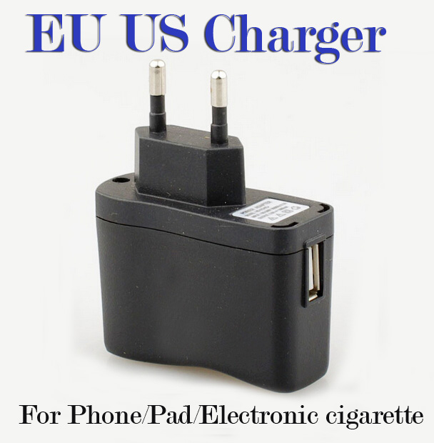 EU wall charger plug travel Charger ego ecig plug adapter e cigarette e cig wall usb charger fo